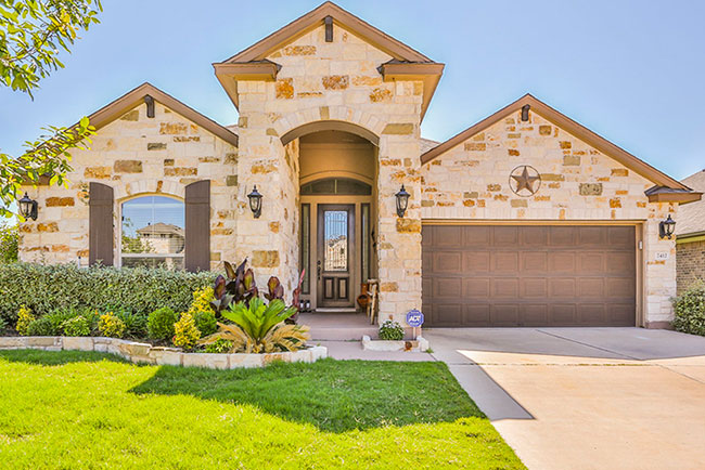 A beautiful home in Leander, Texas