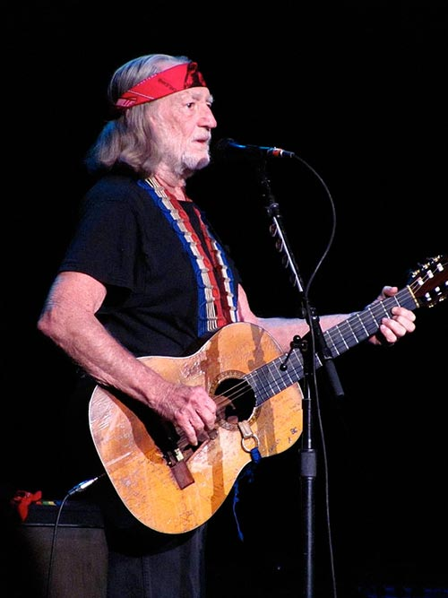 Versatile star Willie Nelson is a singer and also an actor