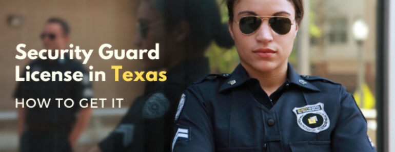 Security Guard License in Texas