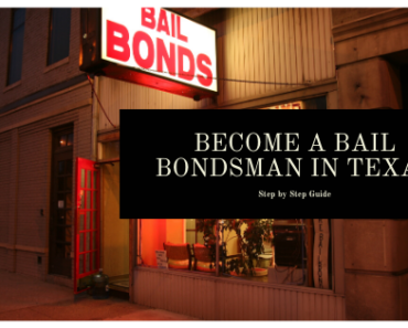Become a Bail Bondsman in Texas