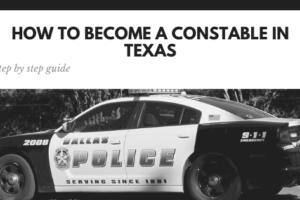 How to Become a Constable in Texas