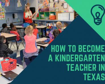 How to Become a Kindergarten Teacher in Texas