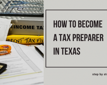 How To Become A Tax Preparer In Texas