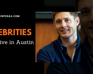 Celebrities that live in Austin