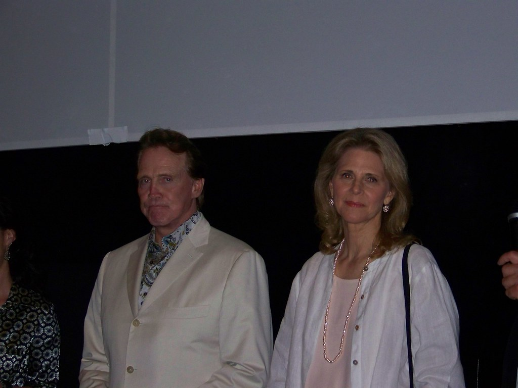 Lee Majors and His Wife