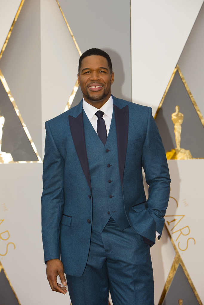 Michael Strahan - the NFL player from Houston, TX